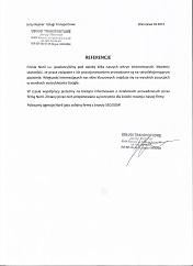 Usługi Transportowe Jerzy Rejmer opinia o Noril