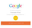 Certyfikat Google